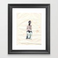Smoker Camel | Habana Framed Art Print