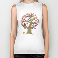 Tree Readers Biker Tank