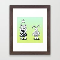 Duet Framed Art Print