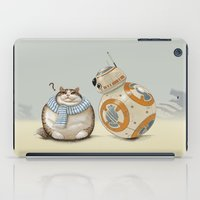 CAT AND DROID iPad Case