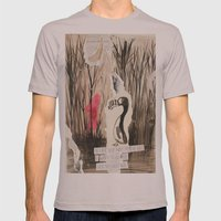 Little Red and Great Auk Mens Fitted Tee Cinder SMALL