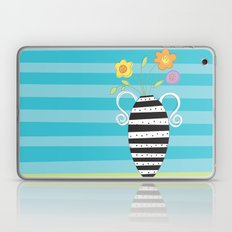 Whimsy Graphic Vase Laptop & iPad Skin