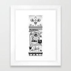 NEW POSTERS !! Framed Art Print