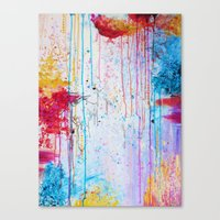 HAPPY TEARS Bright Cheer… Canvas Print