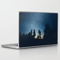 stars Laptop & iPad Skins featuring Follow the stars by HappyMelvin