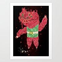 The Pig Art Print