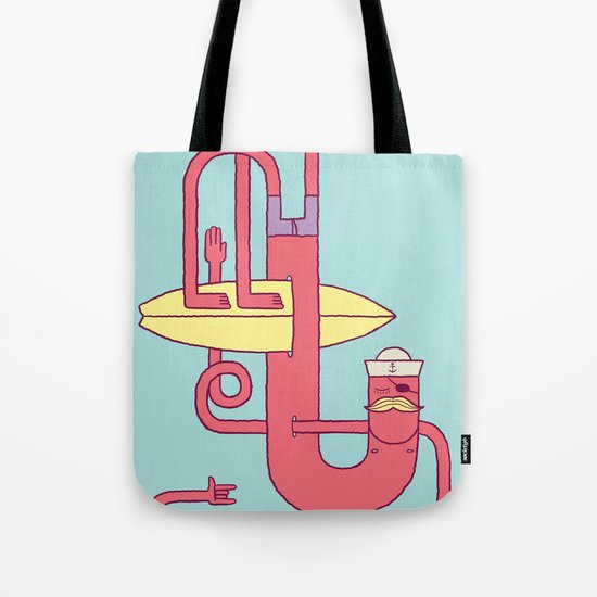 Go Surfing Tote Bag
