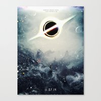 Interstellar Inspired Fi… Canvas Print