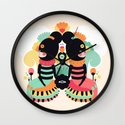 Maoshi & Jun Wall Clock