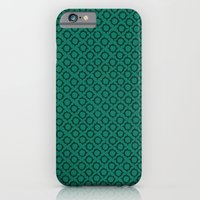 Teal Pattern iPhone 6 Slim Case