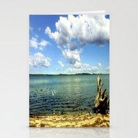 King Lake - Australia Stationery Cards