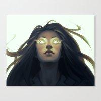 Precognition Canvas Print