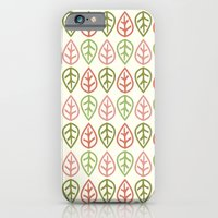 iPhone & iPod Case featuring Greenwood leaf by Faye Brown Designs