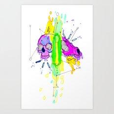 Smaller Gods Art Print