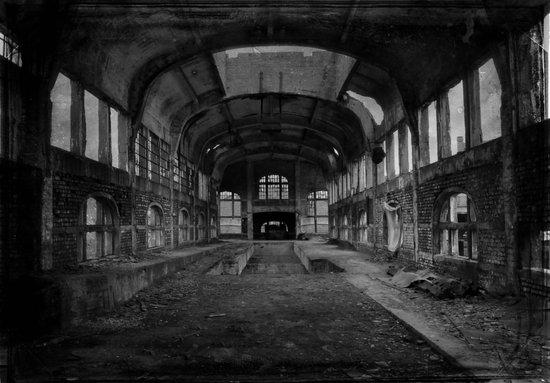 Abandoned mine Art Print