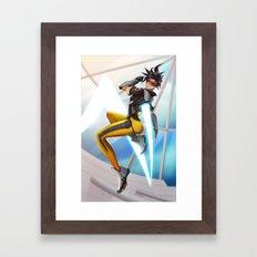 TRACER! Framed Art Print