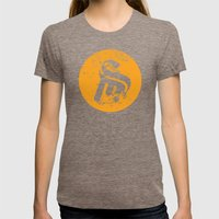 Logo Womens Fitted Tee Tri-Coffee SMALL