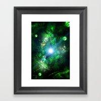 Green Gate Framed Art Print