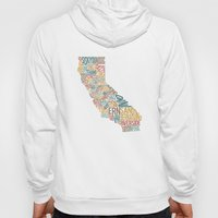California By County Hoody