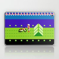 Punctured Bike Laptop & iPad Skin