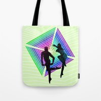 Passengers In Space Tote Bag