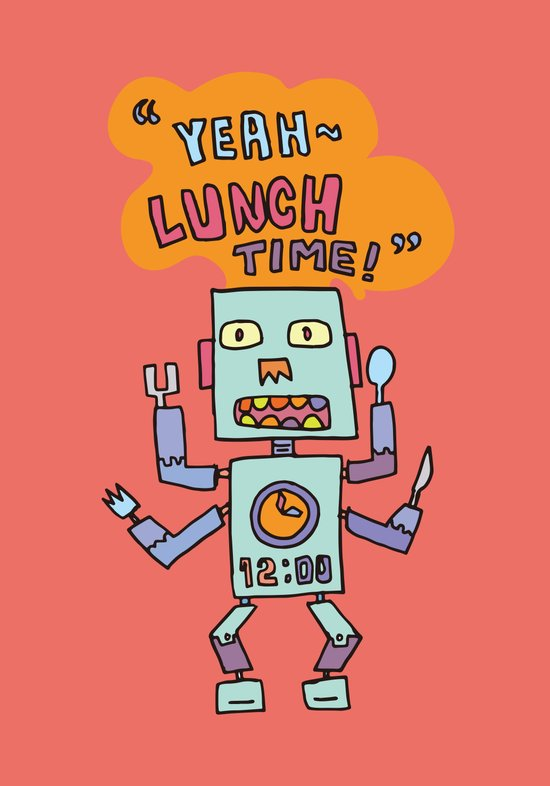 lunch time~ Art Print