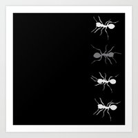 Graphic_Ant Art Print