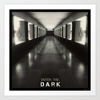 Enter The Dark Art Print
