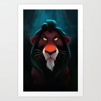 In The Shadows Art Print