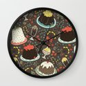 Sweet Deserts  Wall Clock