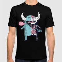 All Monsters are the Same Mens Fitted Tee Black SMALL