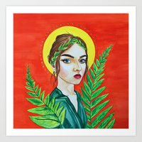 The Goddess of Youth Art Print