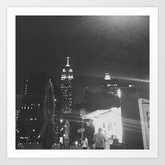 Insomnia City Art Print
