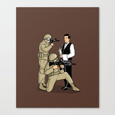 Serving in the Army Canvas Print