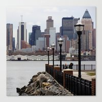 Weehawken Canvas Print
