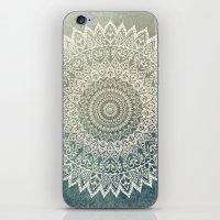 AUTUMN LEAVES MANDALA iPhone & iPod Skin