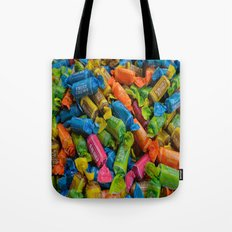 colorful tootsie rolls Tote Bag
