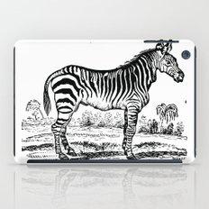 Vintage Zebra iPad Case
