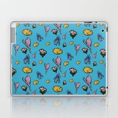 cutout flowers Laptop & iPad Skin