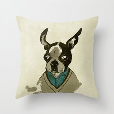 perfect gentleman Throw Pillow