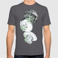 Jelly Fish Mens Fitted Tee Asphalt SMALL