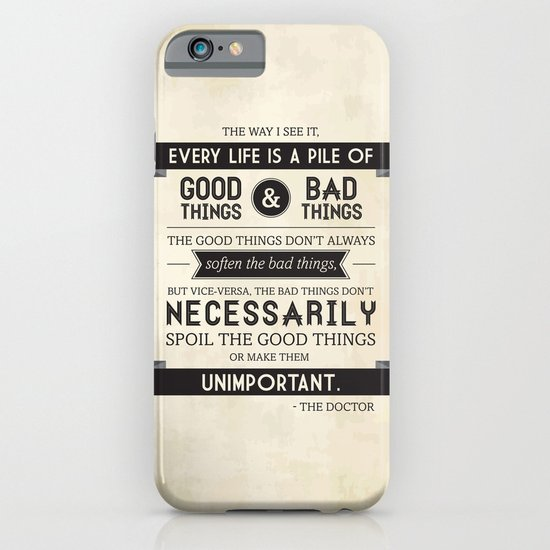 Good Things & Bad Things iPhone & iPod Case