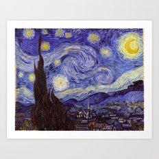 Vincent Van Gogh Starry Night Art Print