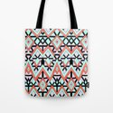 Geometric Mountains Tote Bag