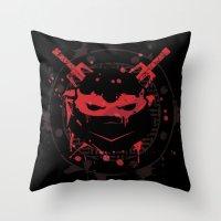 Raphael Turtle Throw Pillow