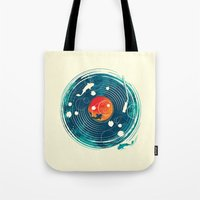 Sound of Water Tote Bag