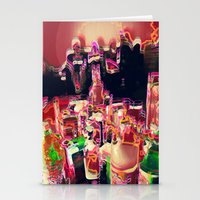 coctail party Stationery Cards