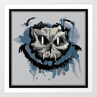 Happy Dead Guy Art Print