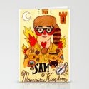 Moonrise Kingdom SAM Stationery Cards