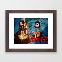 Charolette Framed Art Print
